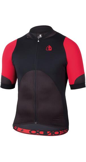 Etxeondo Maillot M/C Izan Koszulka kolarska Mężczyźni czerwony/czarny